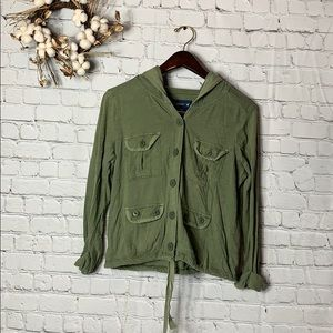 American Eagle | Button-up Hoodie